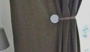 Spontan magnete als Garndinen Raffhalter