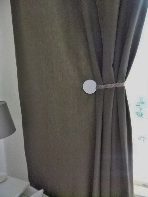 SPONTAN Magnets Curtains Tie Backs IKEA Hackers