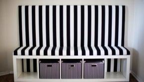 stripeddiybanquette-ikeahack