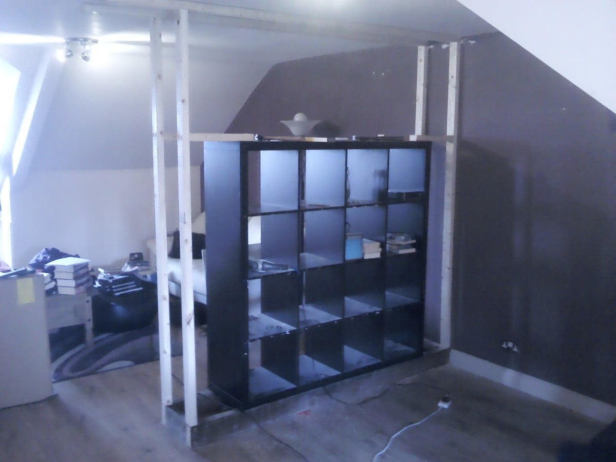 expedit built in room divider ikea hackers ikea hackers. Black Bedroom Furniture Sets. Home Design Ideas