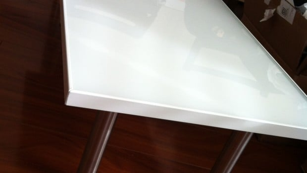 Coffee table view 2, showing CAPITA legs