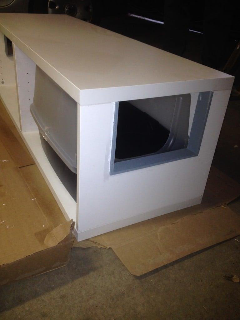 Nice Litter Robot Cabinet #24 - IKEA Hackers