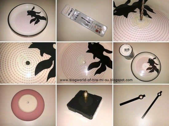 DIY-Wanduhr IKEA Trendig 2013 (step-by-step)