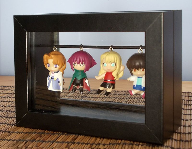 Freestanding Ribba Keychain Display Box