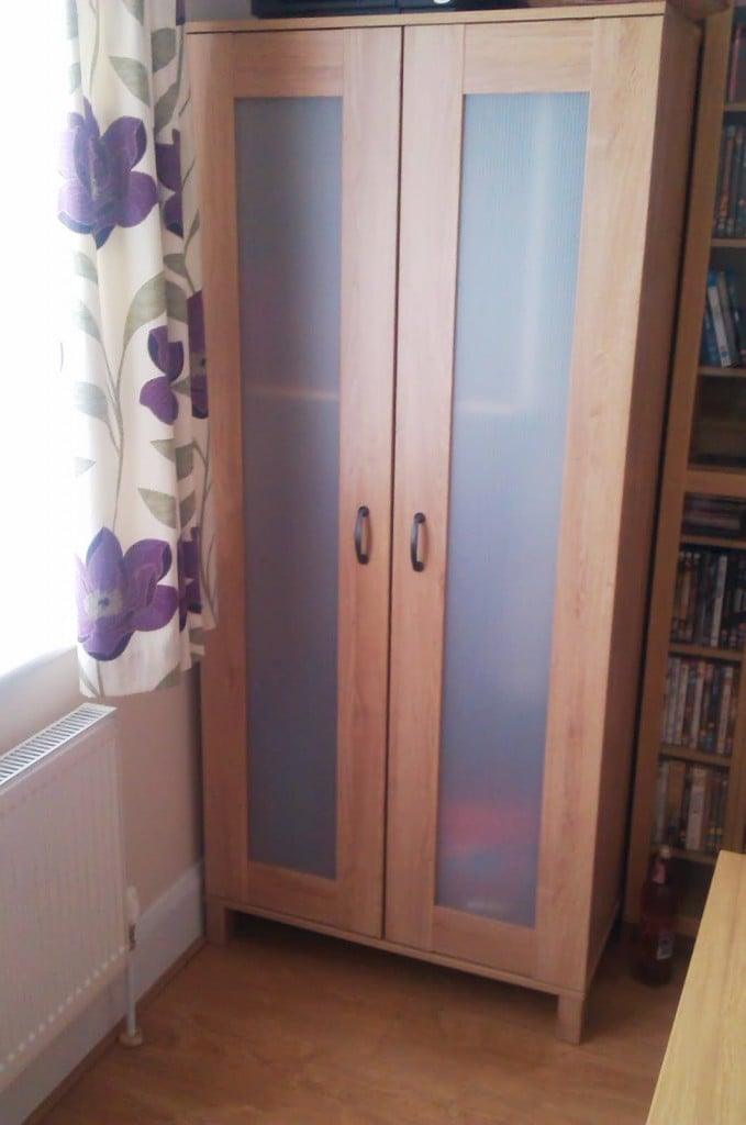austmarka wardrobe to broom cupboard ikea hackers. Black Bedroom Furniture Sets. Home Design Ideas