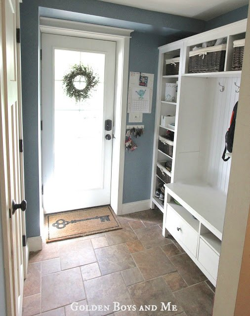 J N Taylor And Co Ikea Hemnes Mudroom Hack By Courtney