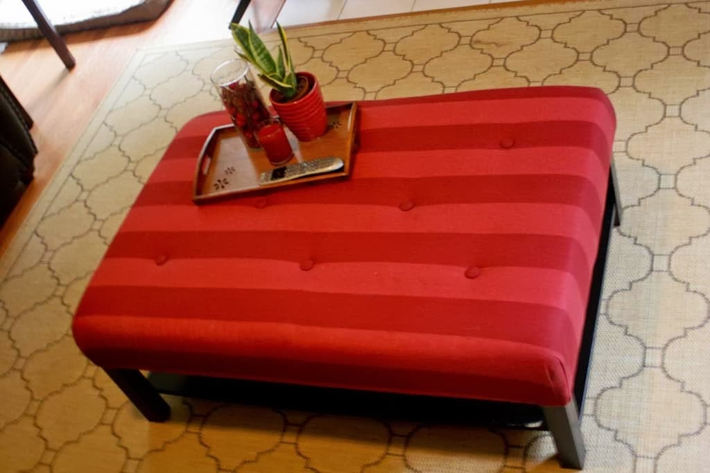 Exceptionnel Hacking The Lack Into An Upholstered Ottoman