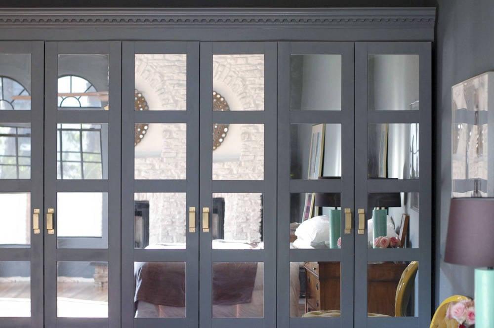 IKEA PAX doors ideas - mirrors