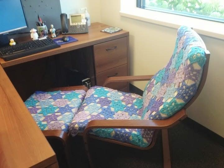 Field Of Flowers Crochet Po 228 Ng Chair Ikea Hackers