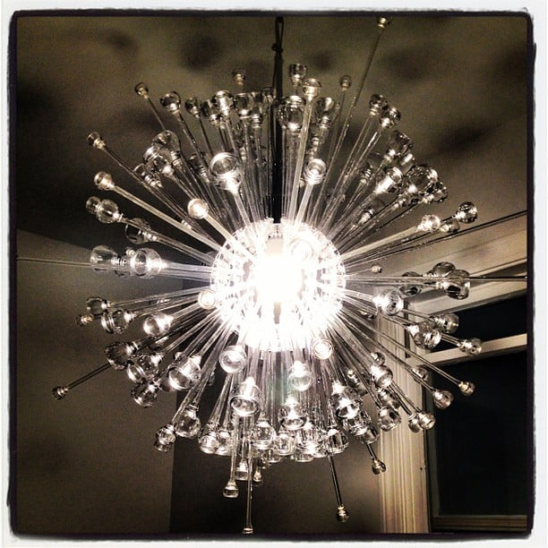 IKEA chandelier Stockholm into Sputnik hack