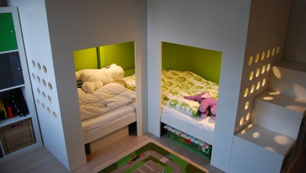 Mydal Loftbed With Play Area Ikea Hackers Ikea Hackers