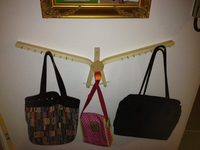frosta bird design handbag holder