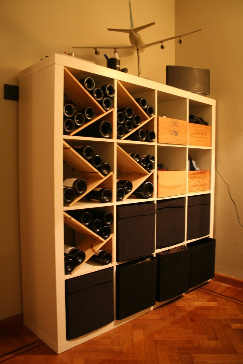 Expedit For Wine Lovers Ikea Hackers Ikea Hackers