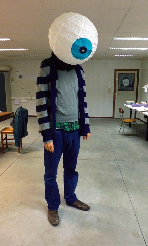 Giant Eyeball Costume Ikea Hackers