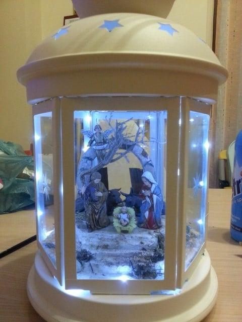 Christmas Nativity In A Rotera Lantern IKEA Hackers
