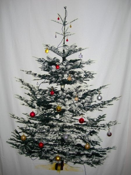 Space Saving Christmas Tree Ikea Hackers
