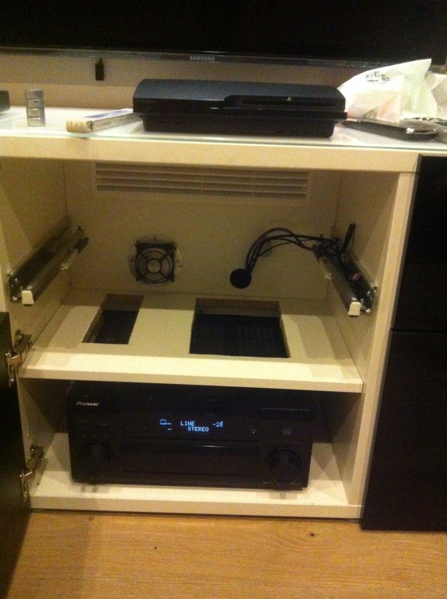 Marvelous Stereo Cabinet Cooling Rigakublog Com Download Free Architecture Designs Rallybritishbridgeorg