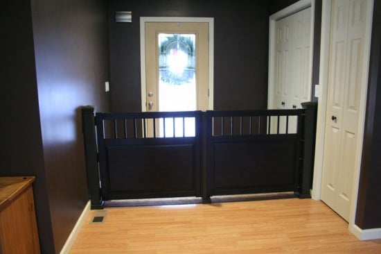 hemnes dog gate ikea hackers ikea hackers. Black Bedroom Furniture Sets. Home Design Ideas
