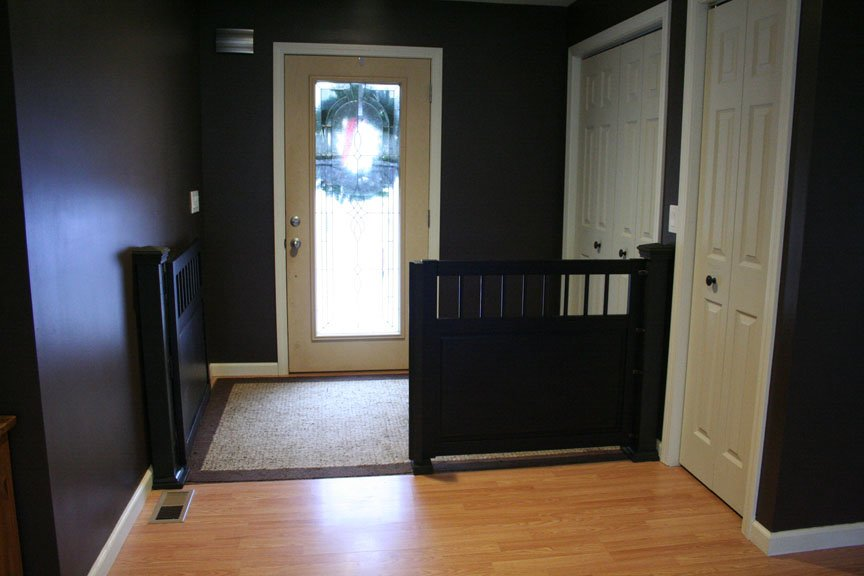 gates door barrier open dogs at the gate front retractable for use pet dog doors in