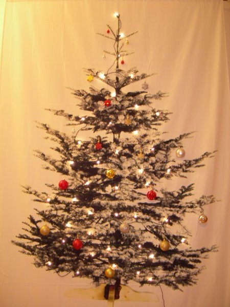 Space saving christmas tree ikea hackers space saving christmas tree aloadofball Image collections