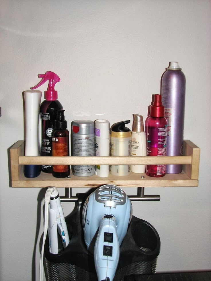 Hair Product Organizer Ikea Hackers