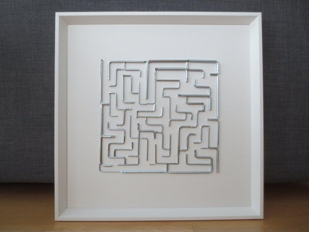 IKEA hex key maze