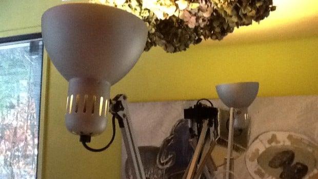 lamp closeup
