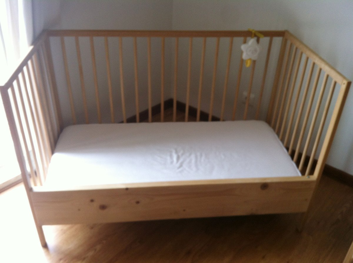 Sniglar Crib To Sleeper Ikea Hackers