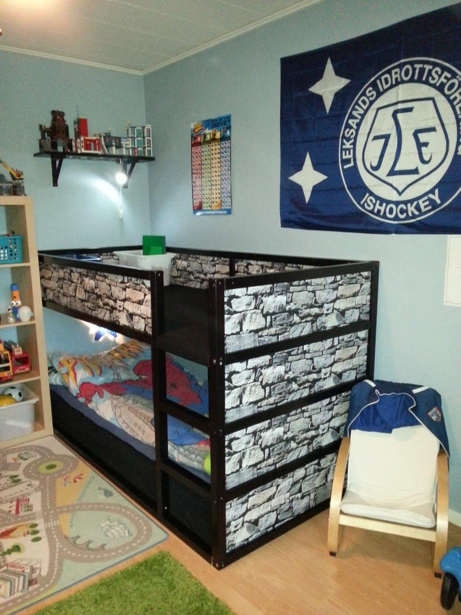 ikea kura with lego play area ikea hackers ikea hackers. Black Bedroom Furniture Sets. Home Design Ideas