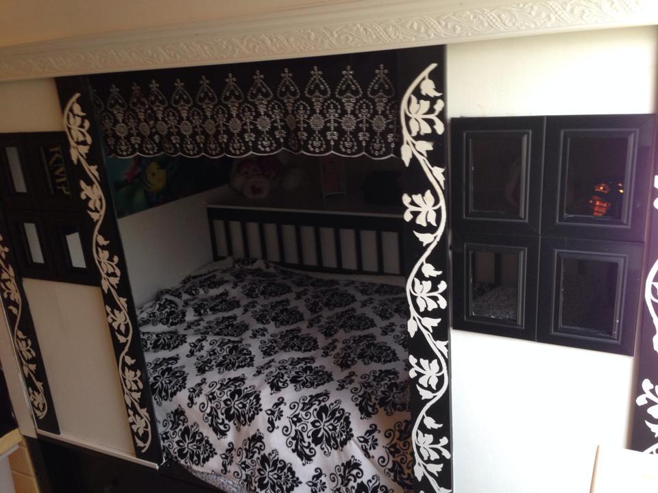 Loft Playhouse Bed Ikea Hackers