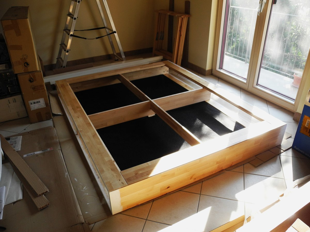 Ikea Dresser As Changing Table ~ Mandal madness Turn your bed into a storage bed and get an almost