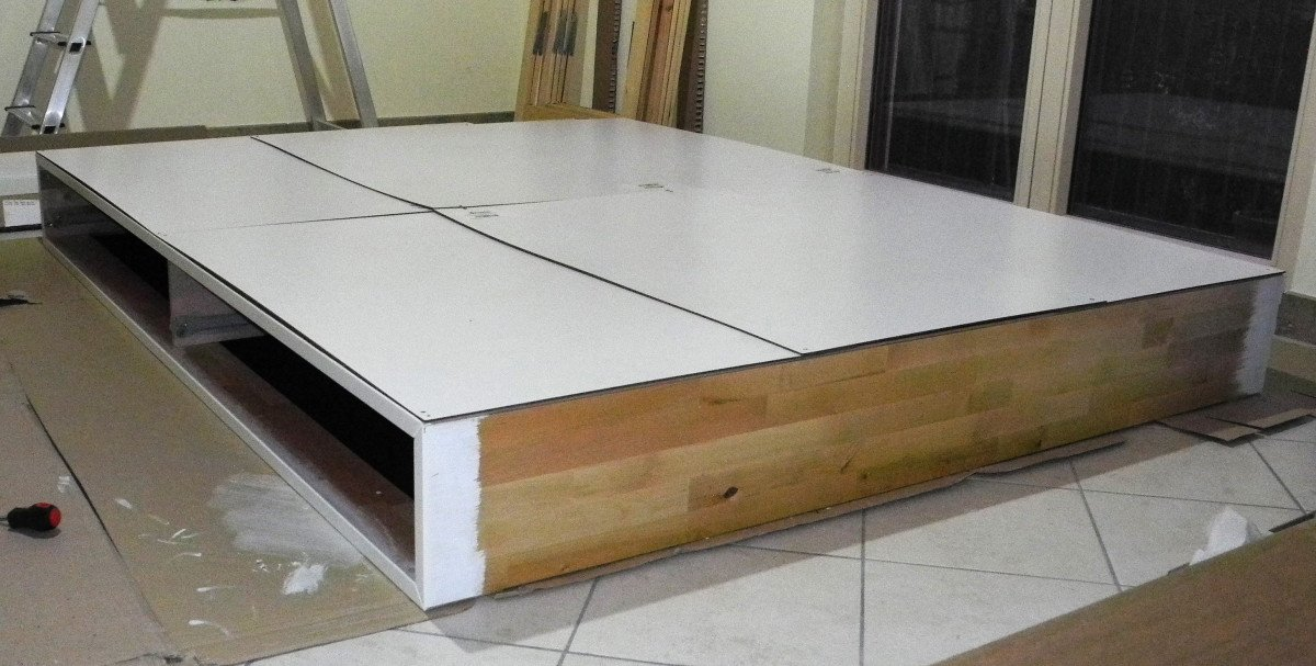 Ikea Schrank In Dachschräge ~ Mandal madness Turn your bed into a storage bed and get an almost