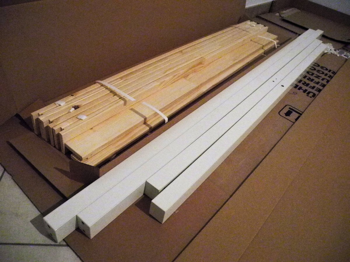 Bed frame with storage - Mandal Madness Turn Your Bed Into A Storage Bed And Get An Almost