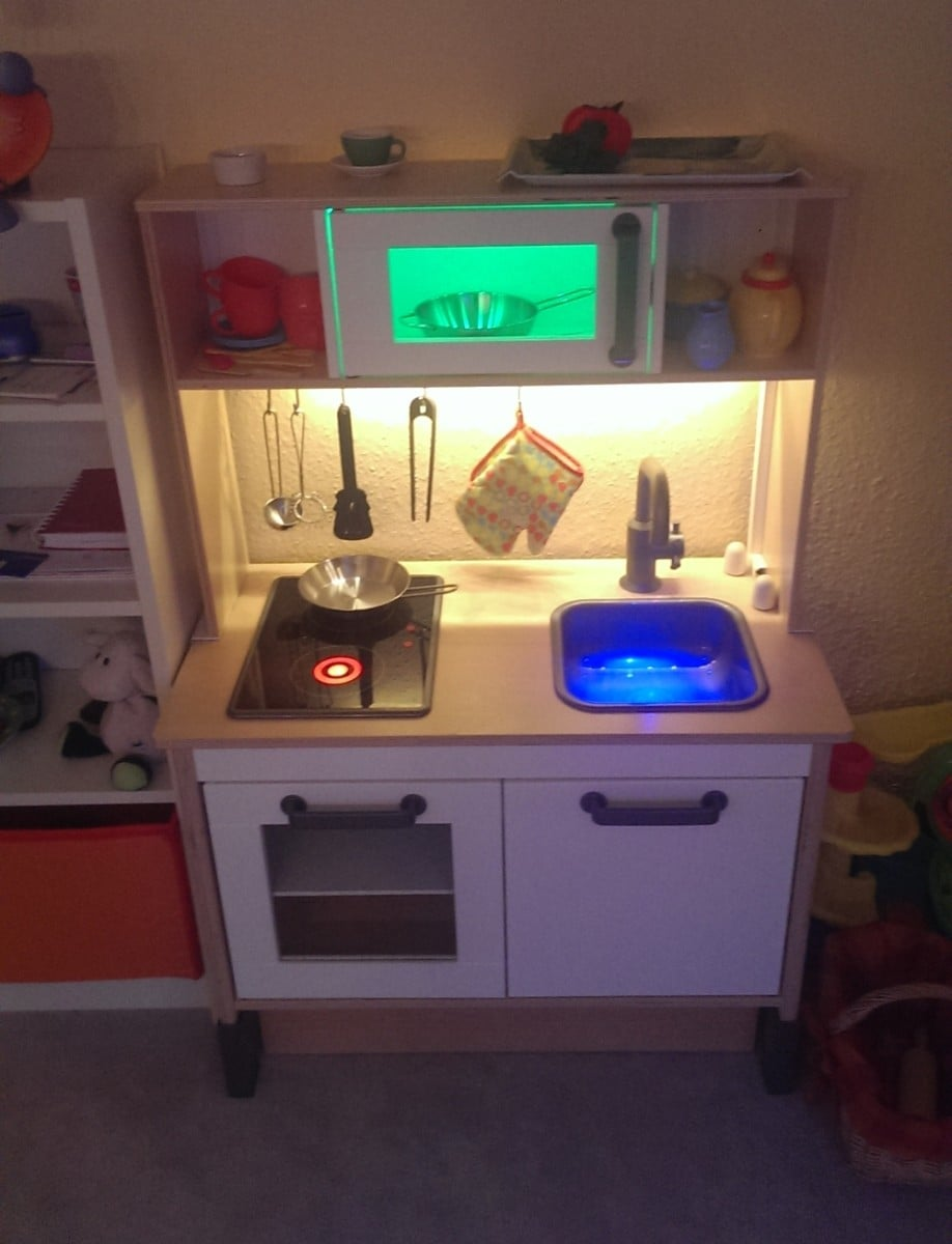 pimed duktig children mini kitchen ikea hackers ikea hackers. Black Bedroom Furniture Sets. Home Design Ideas