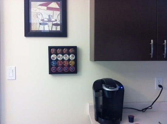K-cup holder wall mounted IKEA Hack DIY