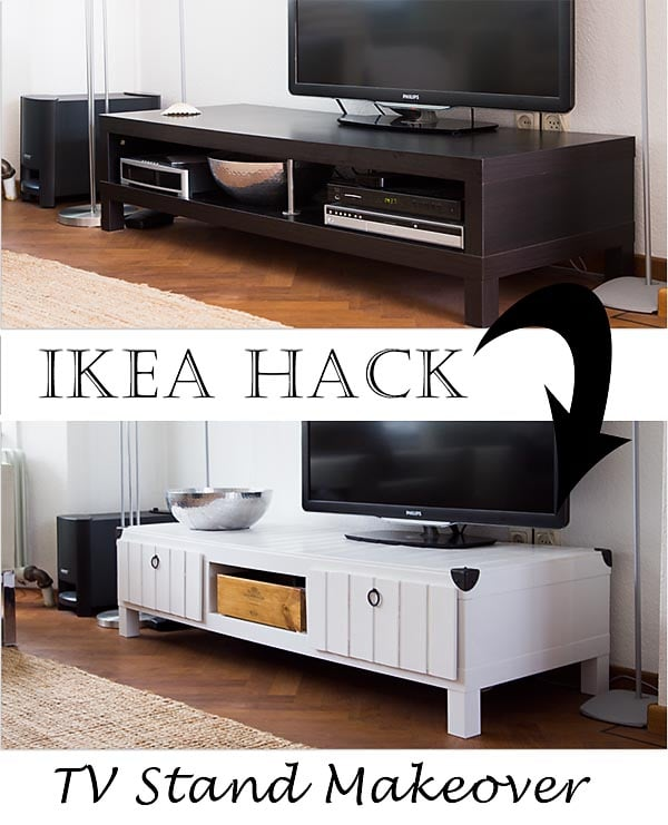 Ikea Friheten Assembly Time ~ Ikea Lack TV Stand Makeover  IKEA Hackers  IKEA Hackers