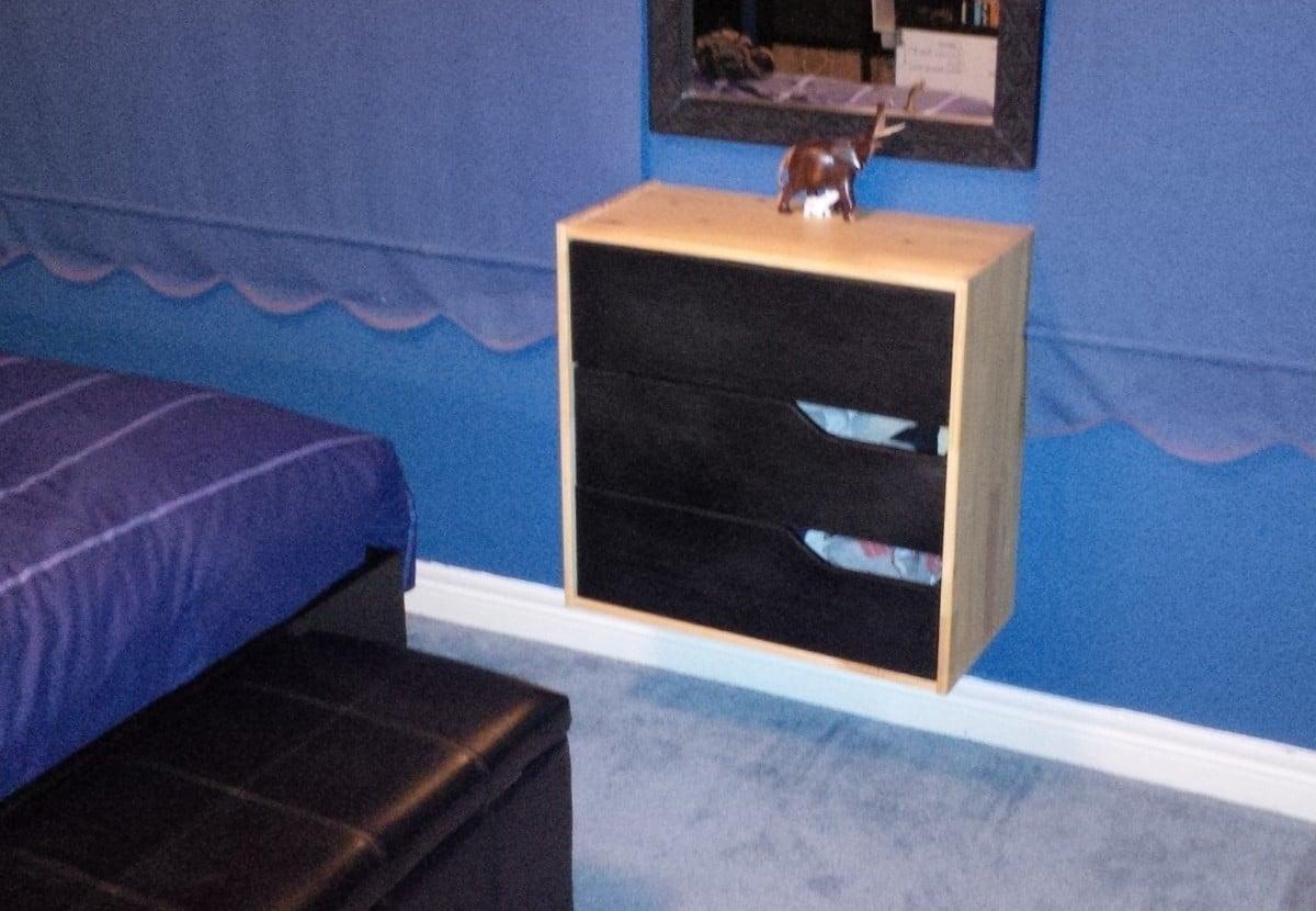 Wickelkommode Ikea Leksvik Maße ~   Hack, Wall Mounted Mini Mandal Dresser  IKEA Hackers  IKEA Hackers