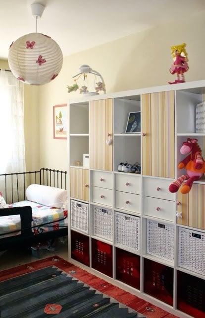A Closet On A Bookcase Ikea Hackers