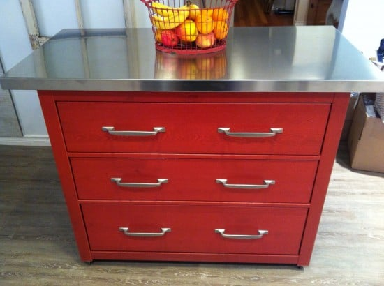 Hemnes Kitchen Island