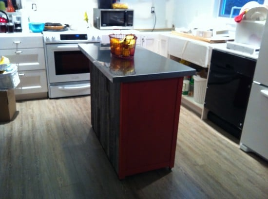 Hemnes Kitchen Island with drawers