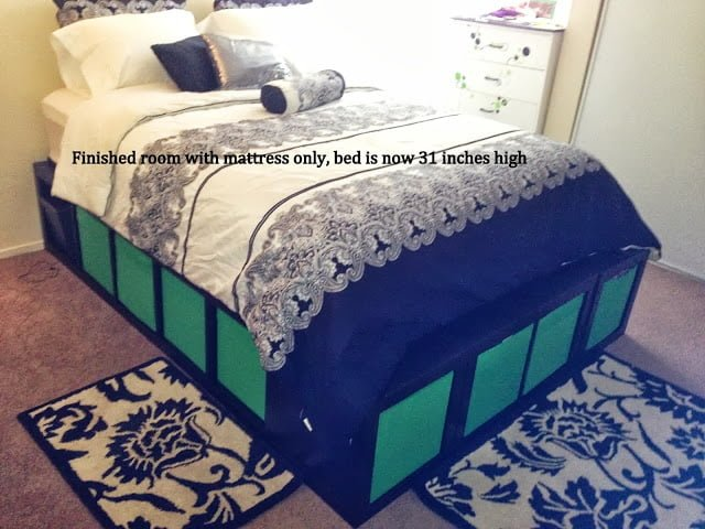Expedit Queen Platform Bed Ikea Hackers Ikea Hackers