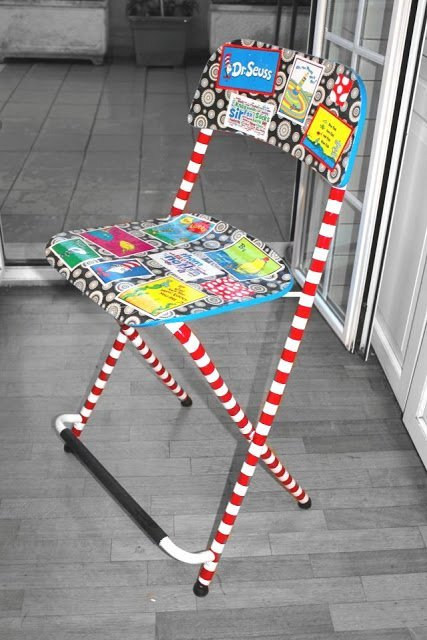 Seussing A Bar Stool Into A Baby High Chair