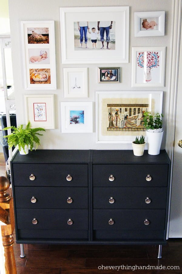 ikea rast hallway makeover ikea hackers. Black Bedroom Furniture Sets. Home Design Ideas