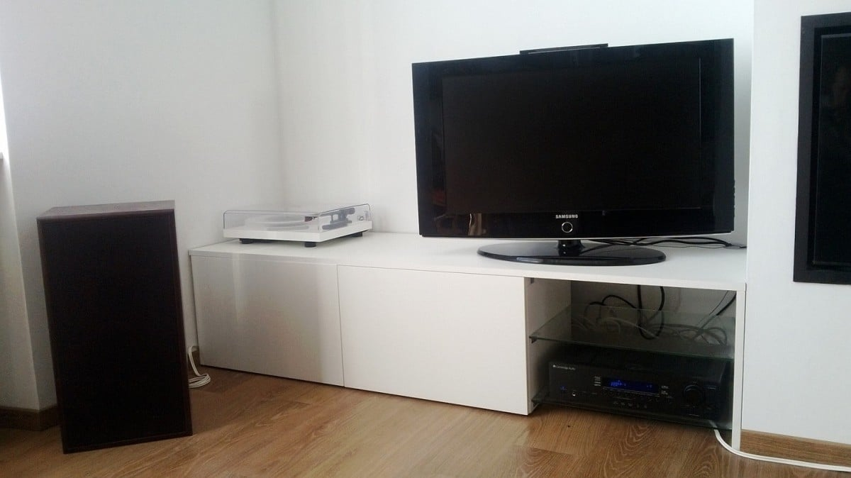 timeless design ee405 b7df4 BESTA HiFi shelf - IKEA Hackers