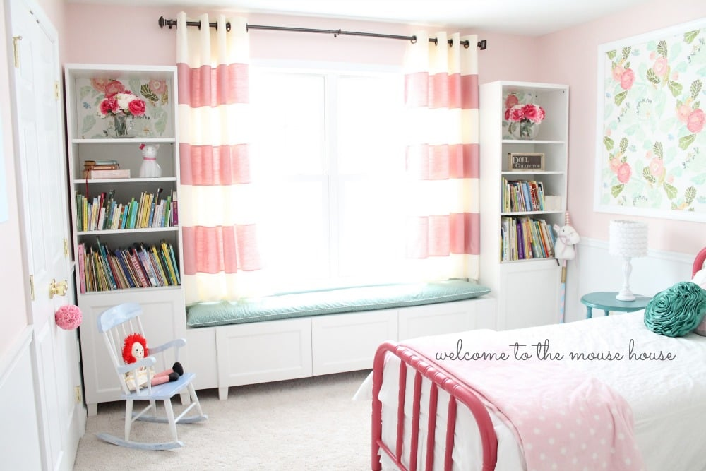 Astounding Besta Window Seat For Little Girl Room Ikea Hackers Customarchery Wood Chair Design Ideas Customarcherynet