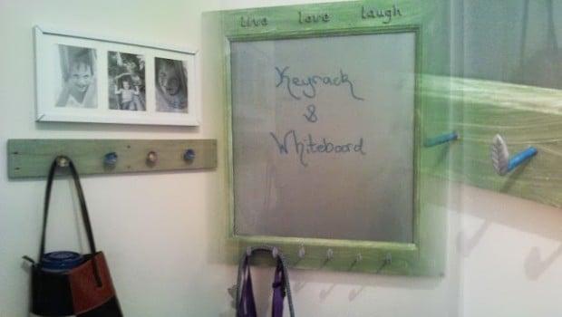 "BESTA ""white"" Board And Keyrack"