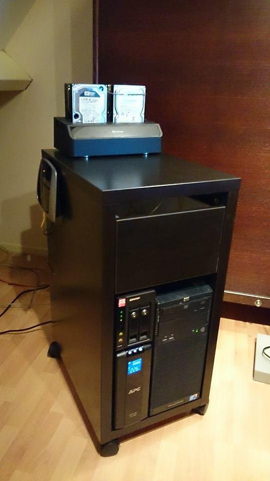 Micke Server Unit Ikea Hackers