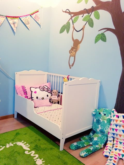 toddler crib gets an upgrade ikea hackers. Black Bedroom Furniture Sets. Home Design Ideas