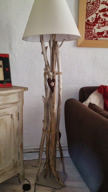 Grey Wood Living Room Table