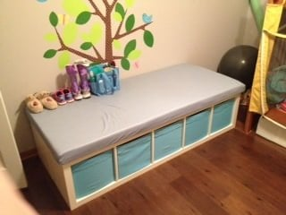 Expedit Changing Table Ikea Hackers